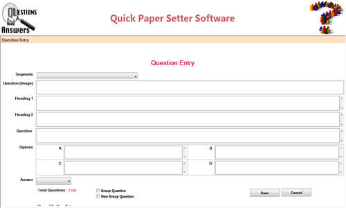 Quick question Paper Publisher - Marthak Software Solutions