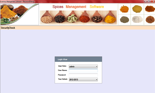 Spices Managment Software publisher - Marthak Software Solutions